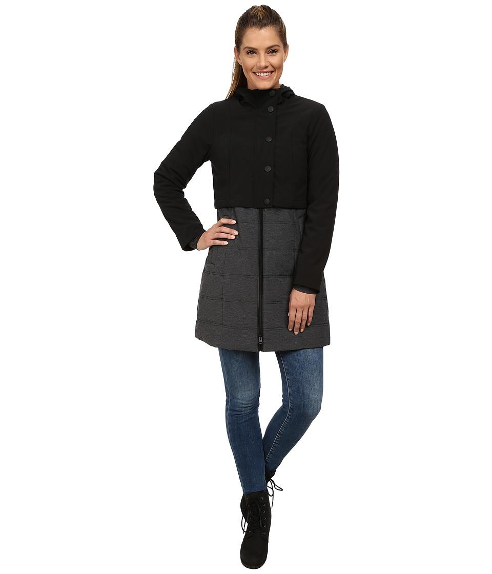 Prana - Duplex Jacket (Black) Women's Coat