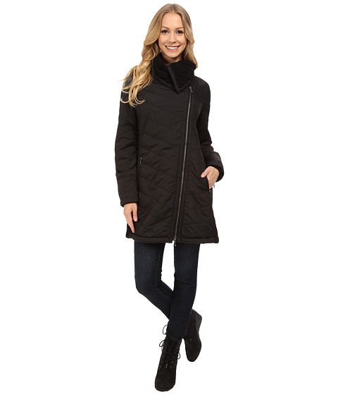 Prana - Diva Long Jacket (Black) Women's Coat