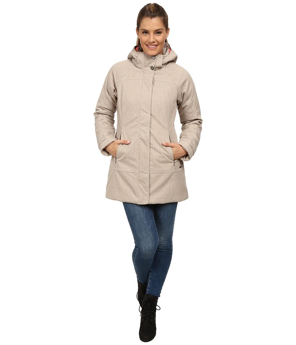 Prana - Petunia Jacket (Stone) Women's Coat