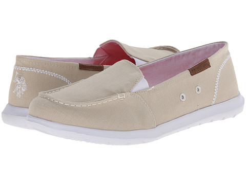 U.S. POLO ASSN. - Priscila9 (Beige Wash) Women