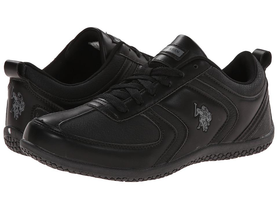 U.S. POLO ASSN. - Chrissy (Black/Grey) Women's Shoes