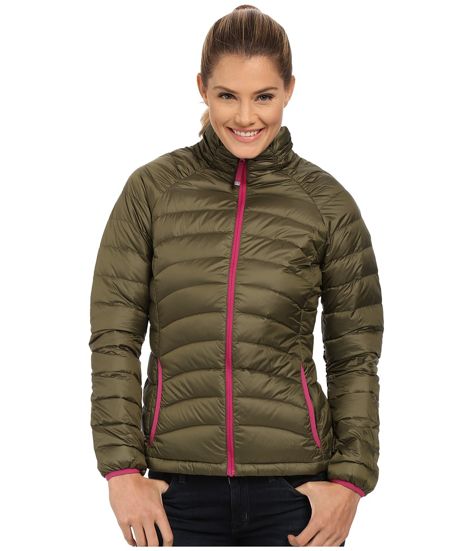 Prana - Lyra Down Jacket (Cargo Green) Women's Coat