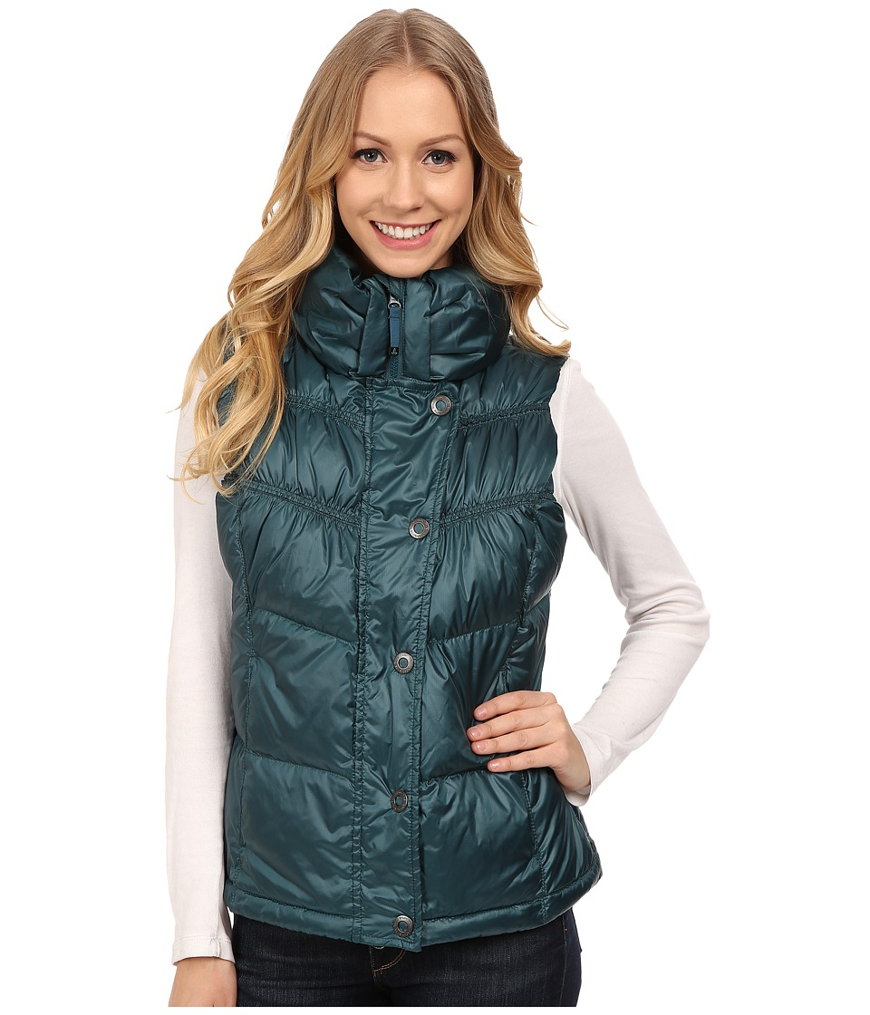 Prana - Milly Down Vest (Deep Balsam) Women