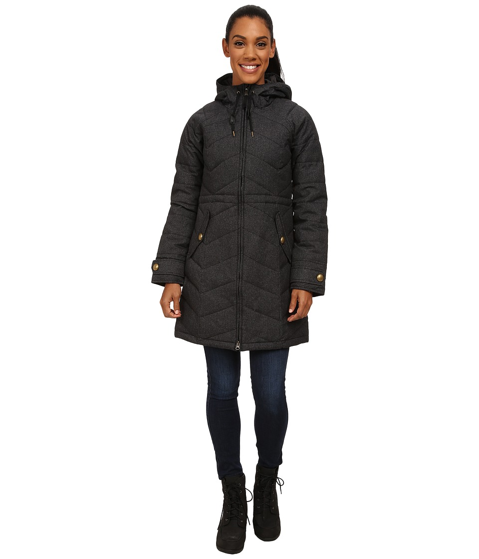 Prana - Mona Jacket (Black Heather) Women's Coat