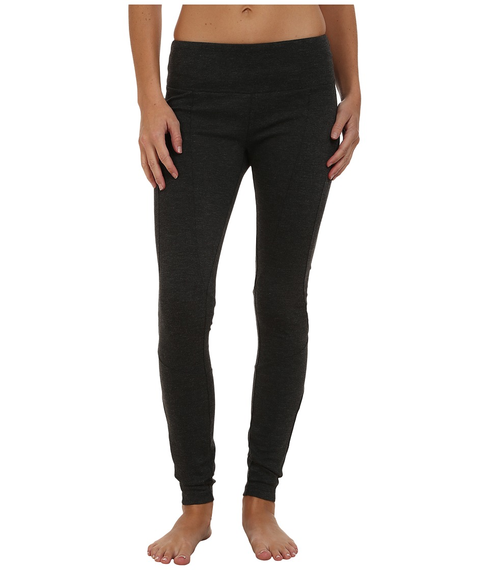 Prana - Moto Leggings (Charcoal) Women's Casual Pants