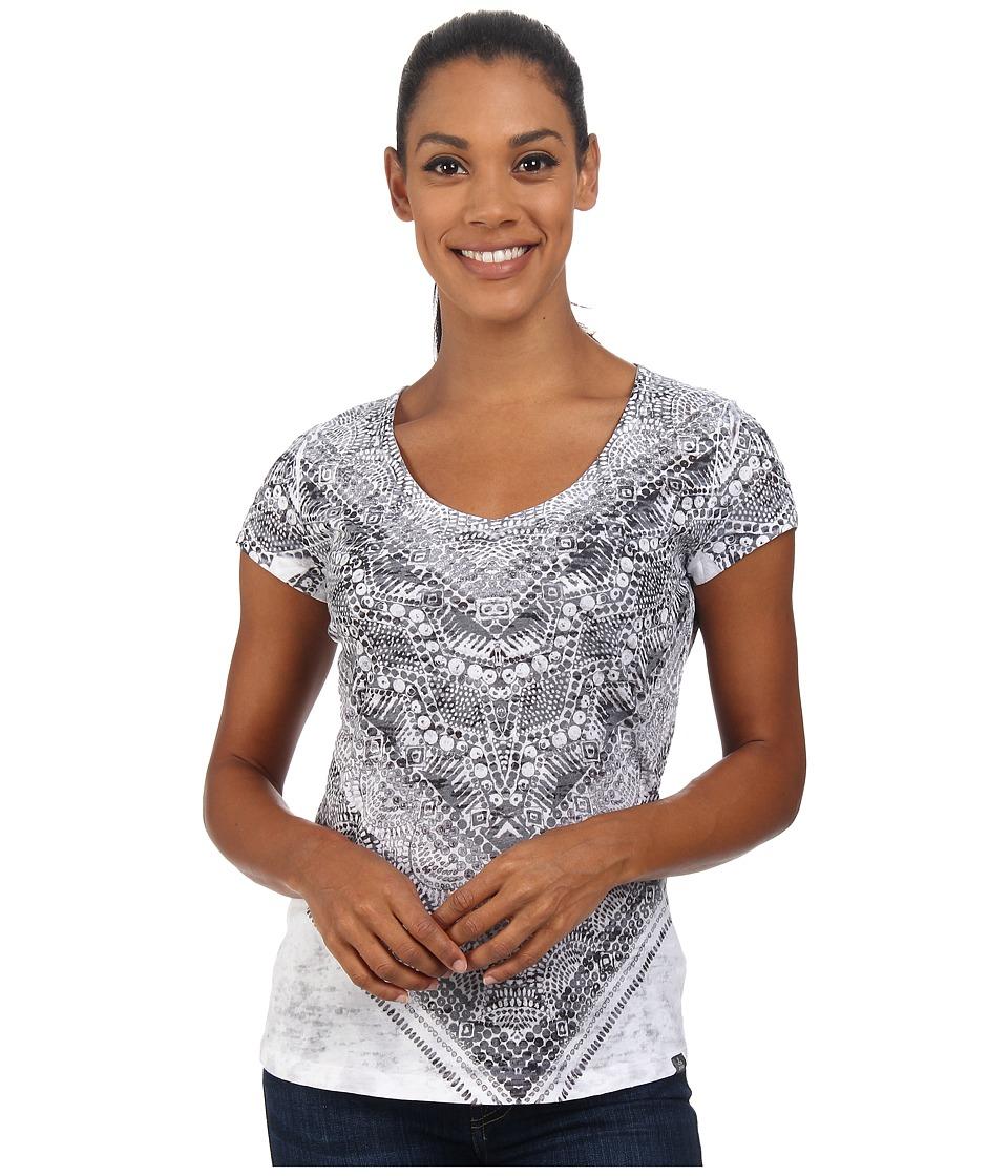 Prana - Braiden Top (Black) Women's Short Sleeve Pullover