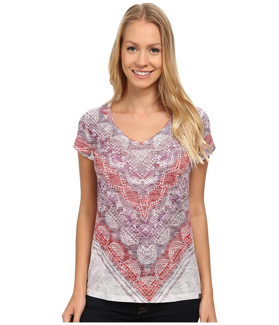 Prana - Braiden Top (Spice) Women's Short Sleeve Pullover