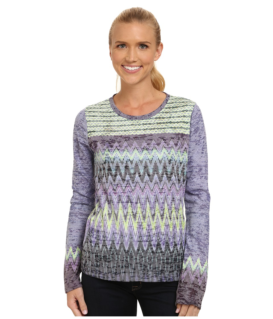 Prana - Lottie Top (Antique Velvet) Women's Long Sleeve Pullover