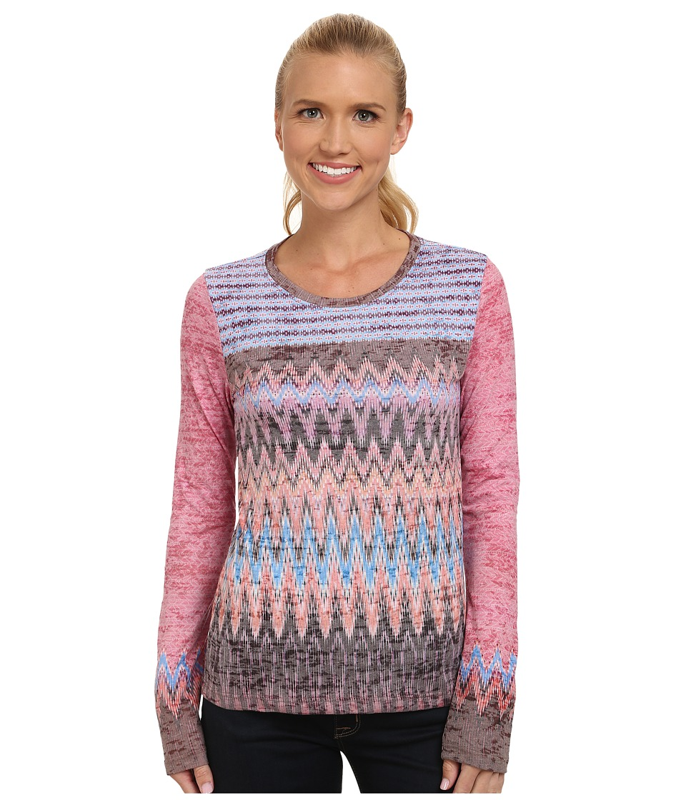 Prana - Lottie Top (Rhubarb) Women's Long Sleeve Pullover