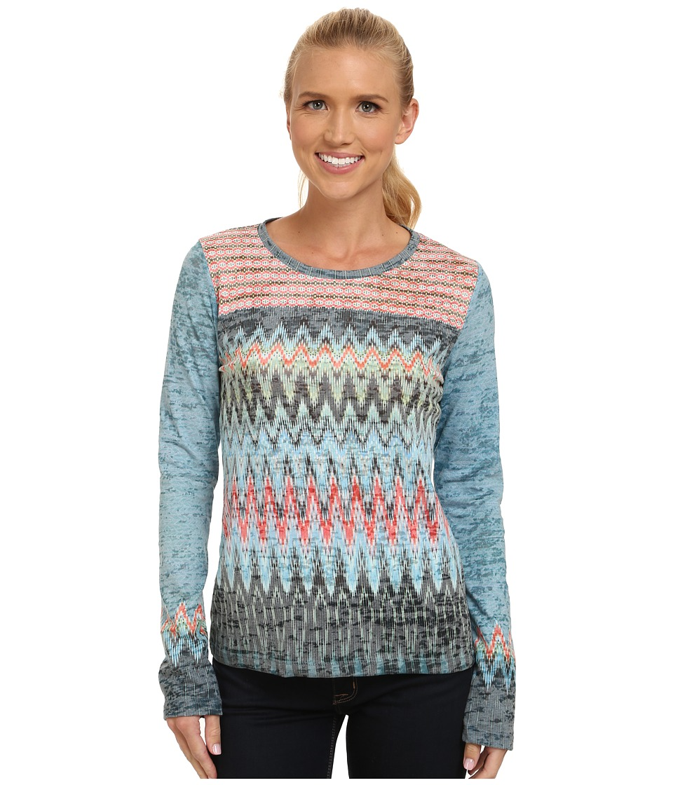 Prana - Lottie Top (Willow) Women's Long Sleeve Pullover