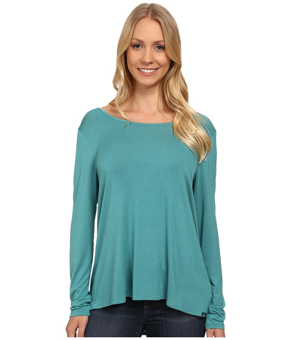 Prana - Miriam Top (Retro Teal) Women's Long Sleeve Pullover
