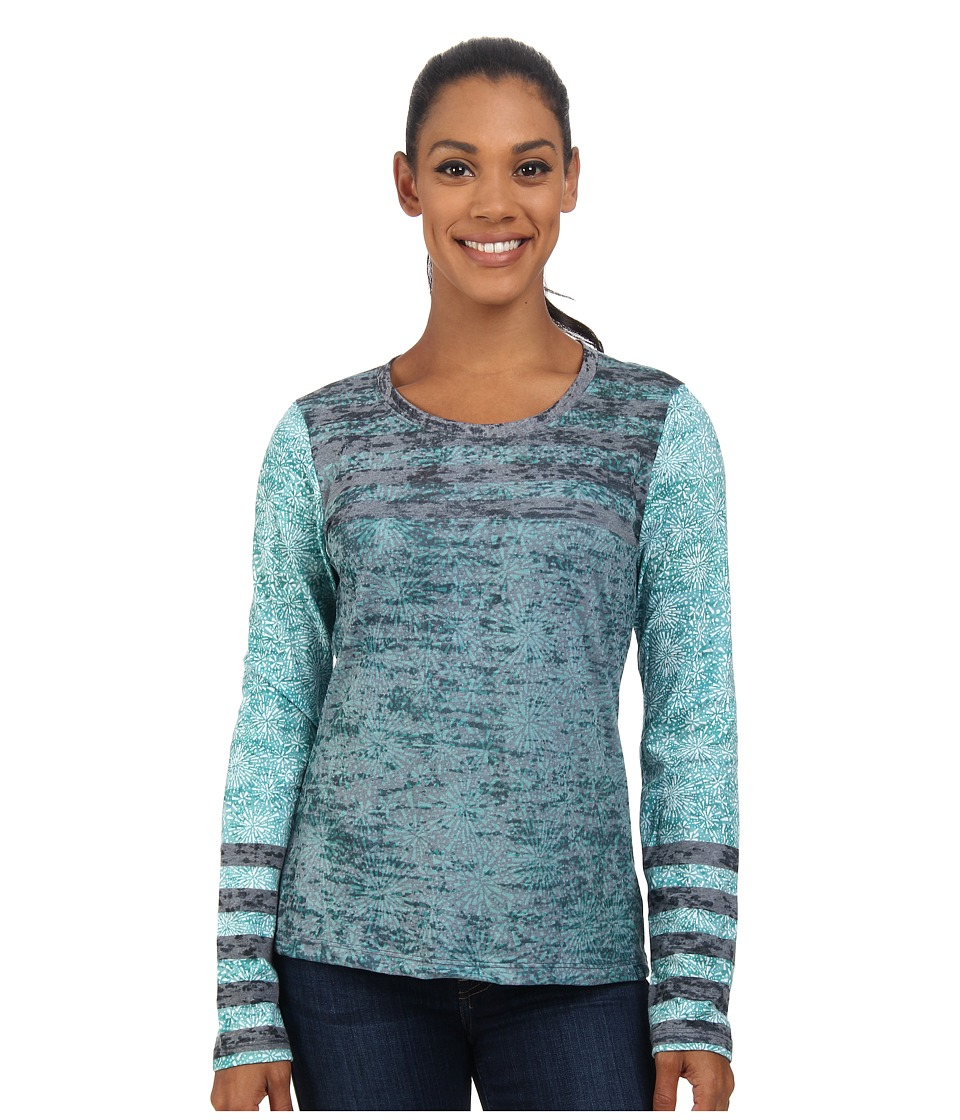 Prana - Izzy Top (Mint) Women's Long Sleeve Pullover