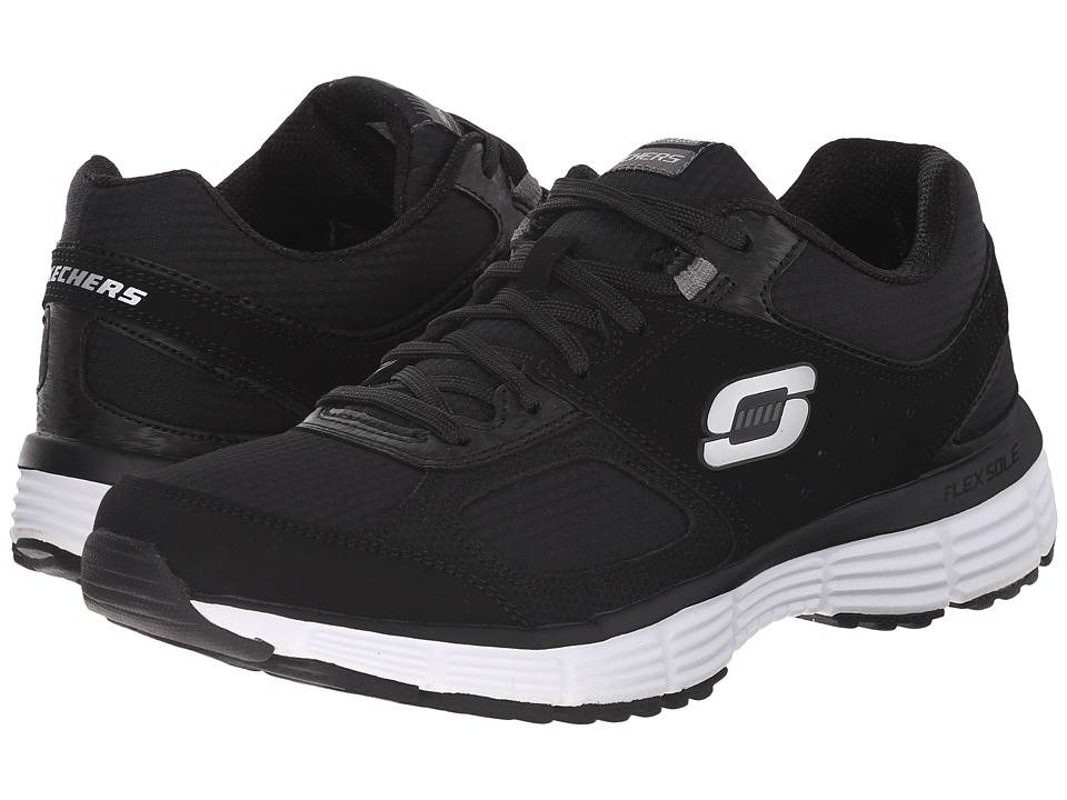 SKECHERS - Agility - Ramp Up (Black/Charcoal) Women's Shoes