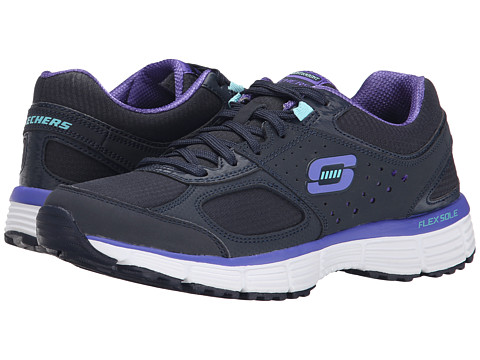 SKECHERS - Agility - Ramp Up (Navy/Purple) Women