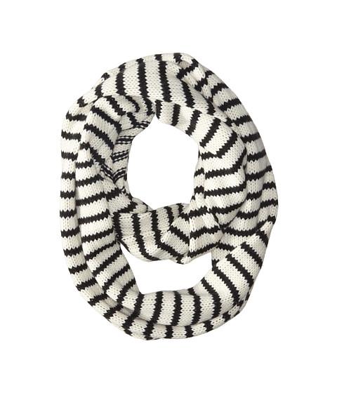 Gabriella Rocha - Stripe Infinity Scarf (Black) Scarves