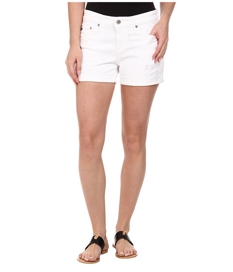 AG Adriano Goldschmied - The Hailey Shorts (White Restored) Women
