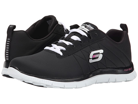 SKECHERS - Flex Appeal - Next Generation (Black/White) Women