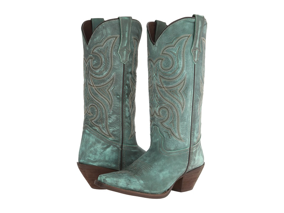 Durango Crush 13 (Marbled Turquoise) Cowboy Boots