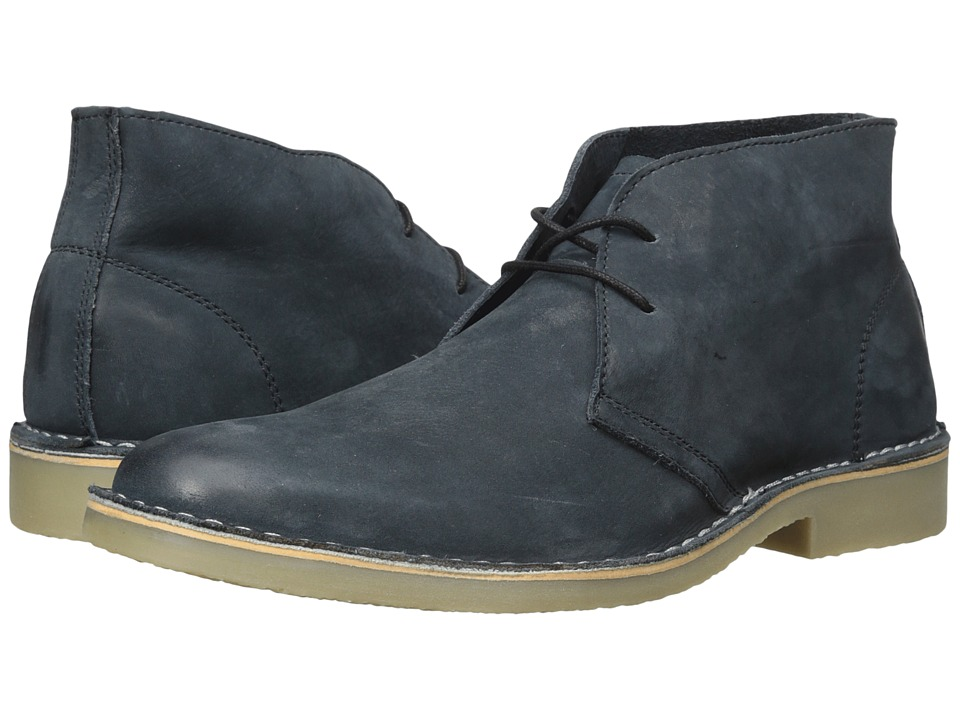 Steve Madden - Tristt (Black Leather) Men