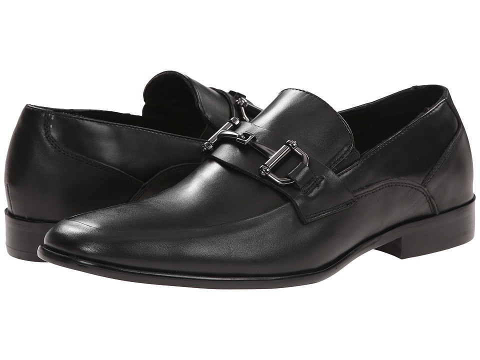 Steve Madden - Jetsonn (Black Leather) Men