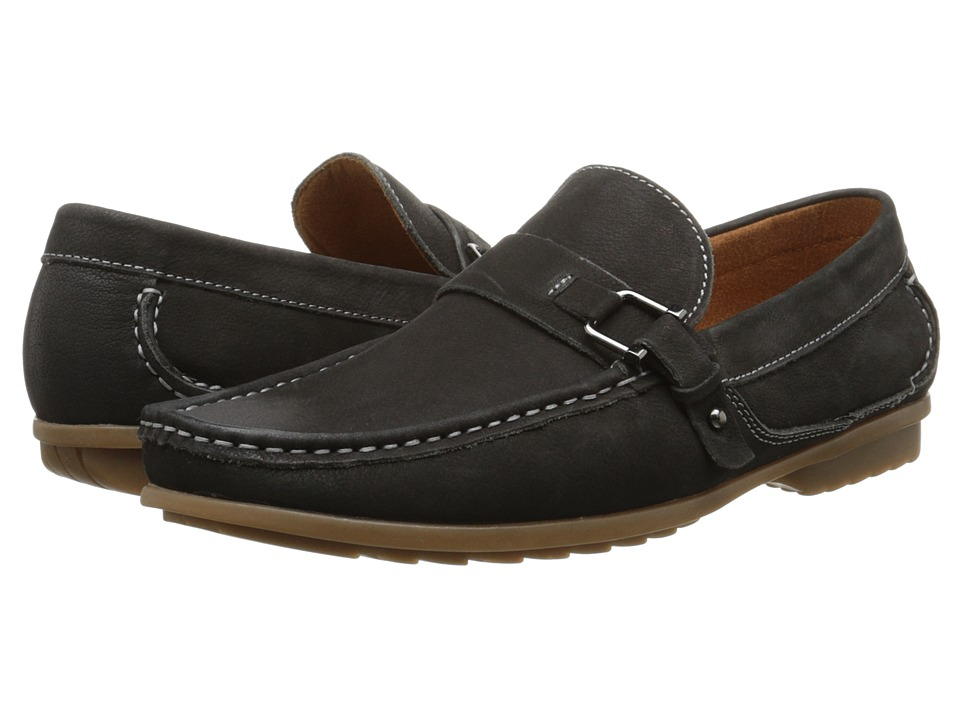 Steve Madden - Tavis (Black Leather) Men
