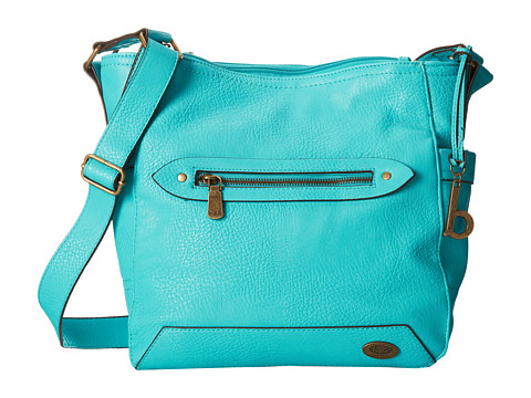 b.o.c. - Hidalgo Large Bucket Hobo (Turquoise) Hobo Handbags