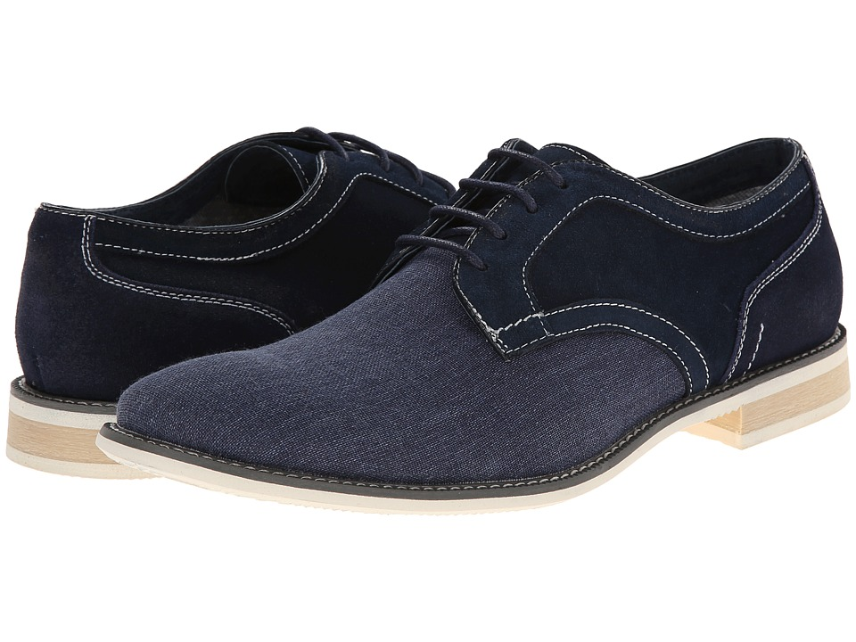 Steve Madden - Sojourn (Navy Suede) Men's Lace up casual Shoes