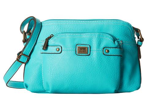 b.o.c. - Yucatan East/West Crossbody (Turquoise) Cross Body Handbags