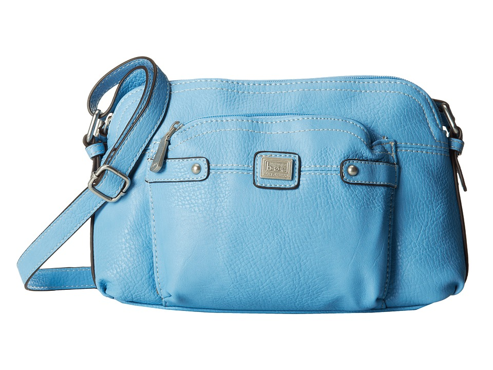 b.o.c. - Yucatan East/West Crossbody (Sky) Cross Body Handbags