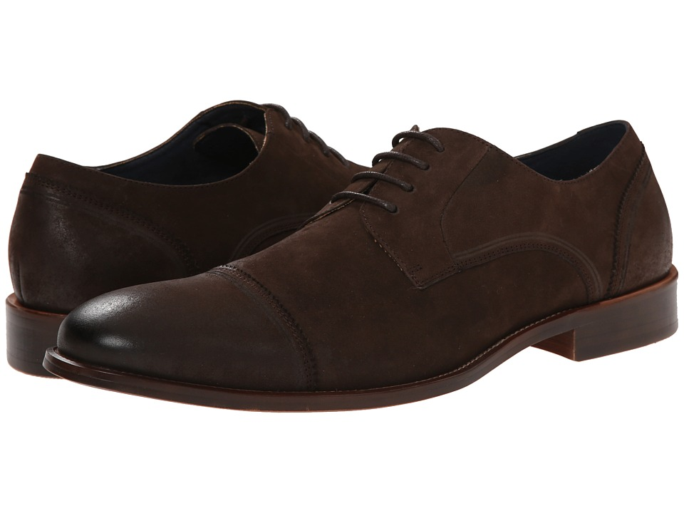 Steve Madden - Revieww (Brown Nubuck) Men's Lace up casual Shoes