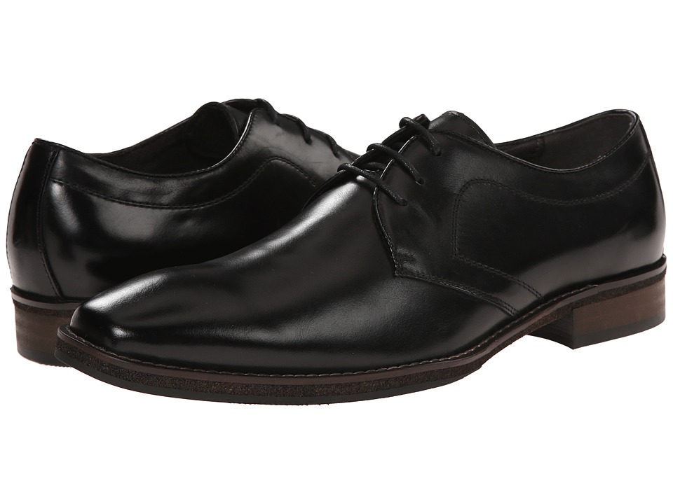 Steve Madden - Protectt (Black Leather) Men