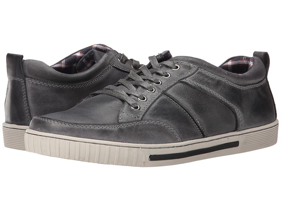 Steve Madden - Pipeur (Grey Leather) Men