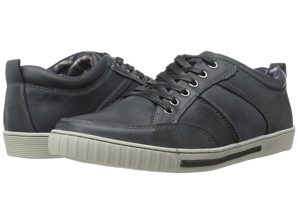 Steve Madden Pipeur (Black Leather) Men