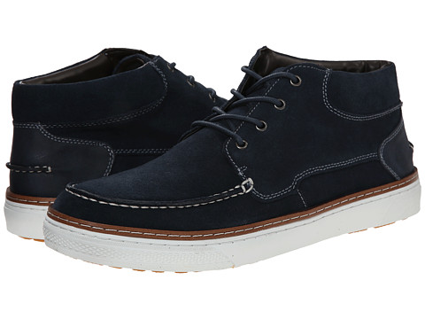 Steve Madden - Flyynn (Navy Suede) Men's Lace up casual Shoes