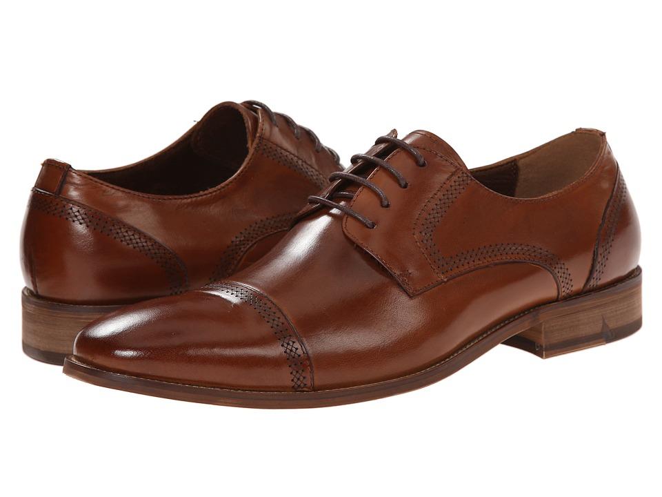 Steve Madden Crucible (Tan Leather) Men