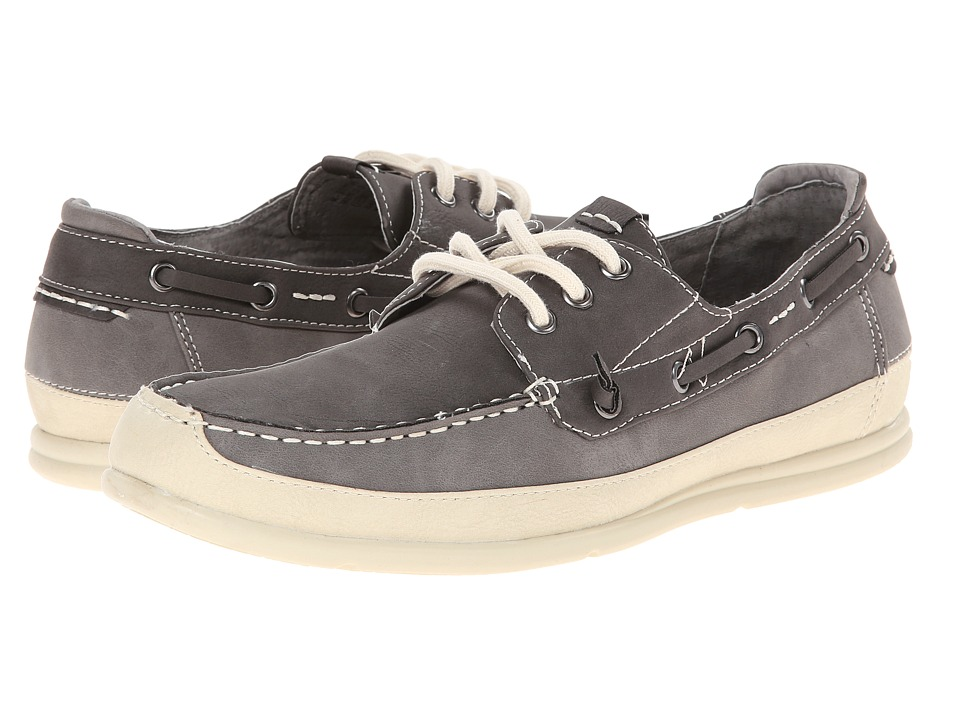 Steve Madden - Rotor (Grey Nubuck) Men's Lace up casual Shoes