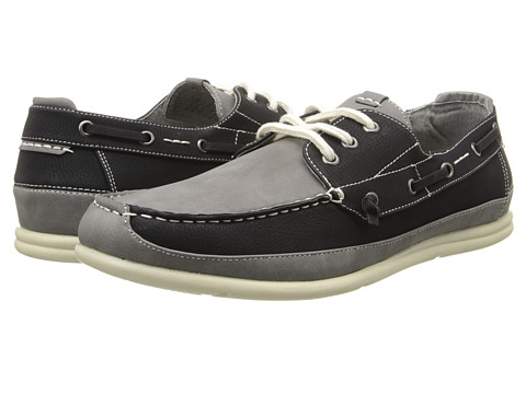 Steve Madden - Rotor (Black/Grey) Men's Lace up casual Shoes