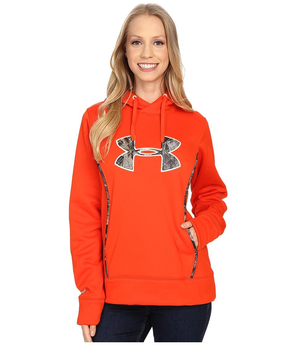 Under Armour - UA Storm Caliber Hoodie (Dark Orange) Women's Sweatshirt