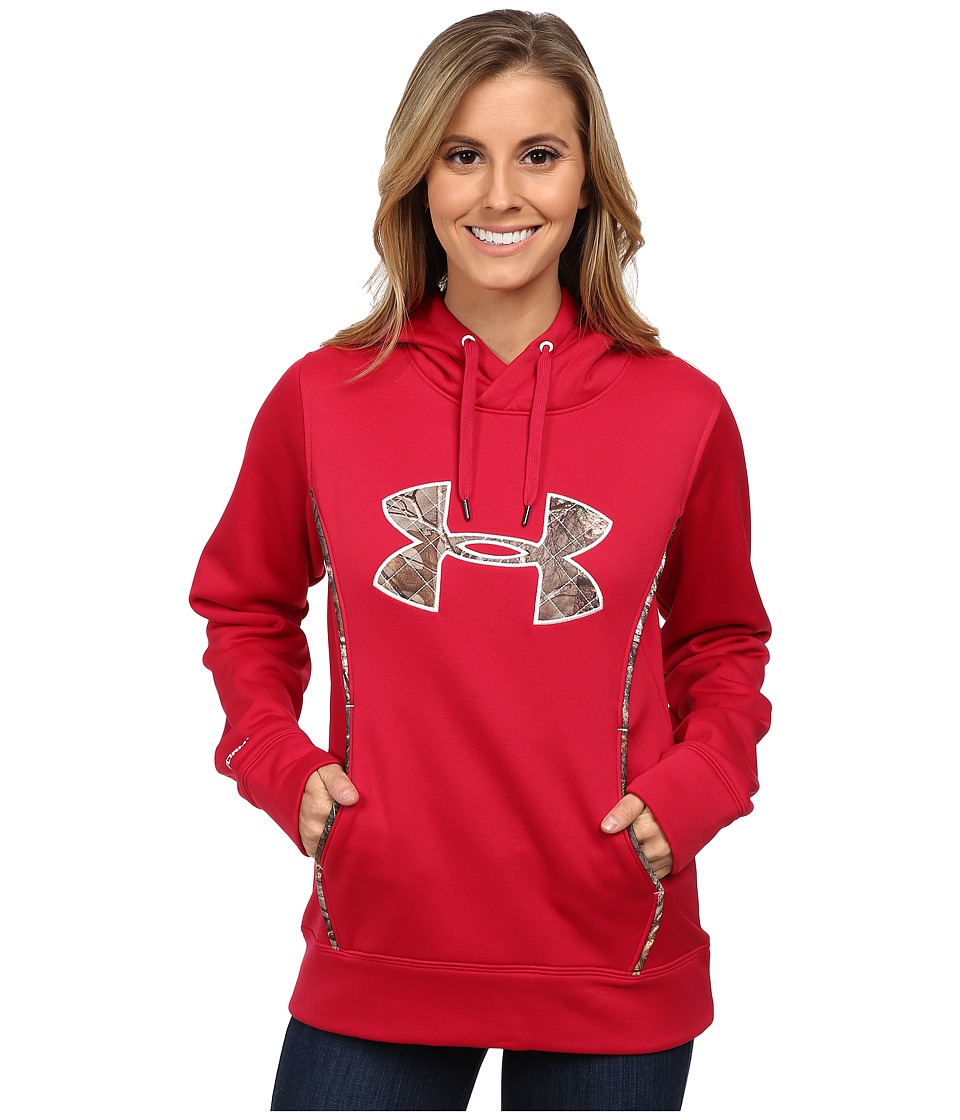 Under Armour - UA Storm Caliber Hoodie (Fury) Women's Sweatshirt