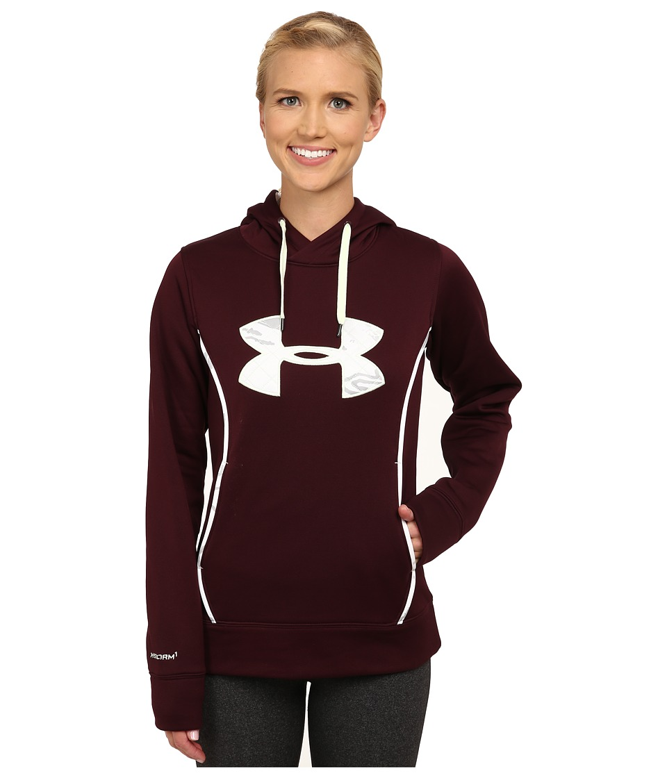 Under Armour - UA Storm Caliber Hoodie (Ox Blood) Women's Sweatshirt