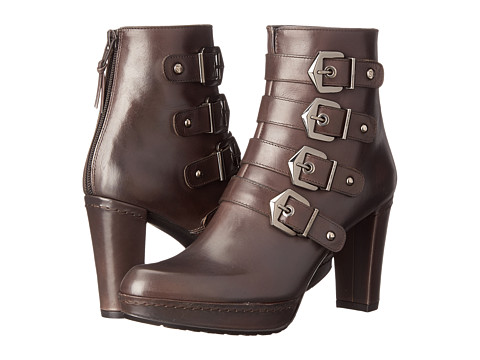 Stuart Weitzman - Berkshire (Rhino Old West Calf) Women's Dress Zip Boots