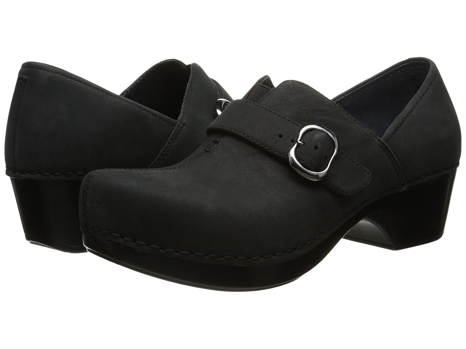 Dansko - Tamara (Black/Nubuck) Women's Clog Shoes