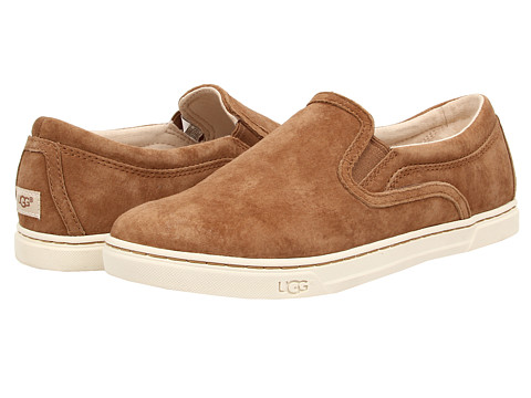 UGG - Fierce (Chestnut Suede) Women's Flat Shoes