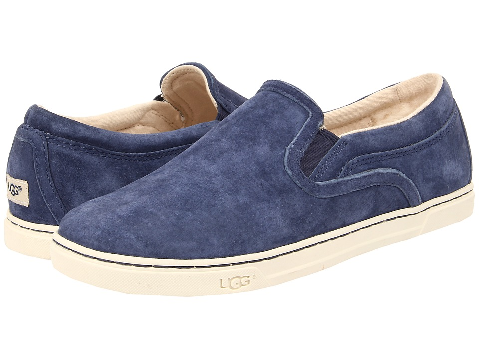 UGG - Fierce (Peacoat Suede) Women's Flat Shoes
