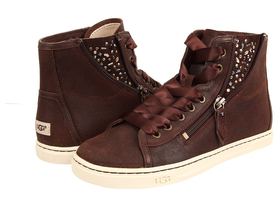 UGG Blaney Crystals (Chocolate Leather) Women
