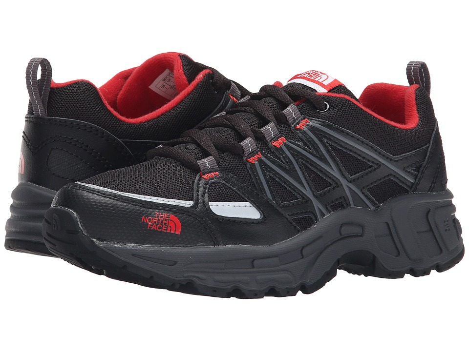 The North Face Kids - Betasso III (Toddler/Little Kid/Big Kid) (TNF Black/TNF Red) Boys Shoes