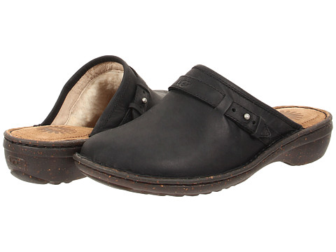 UGG - Bridgen (Black Leather) Women