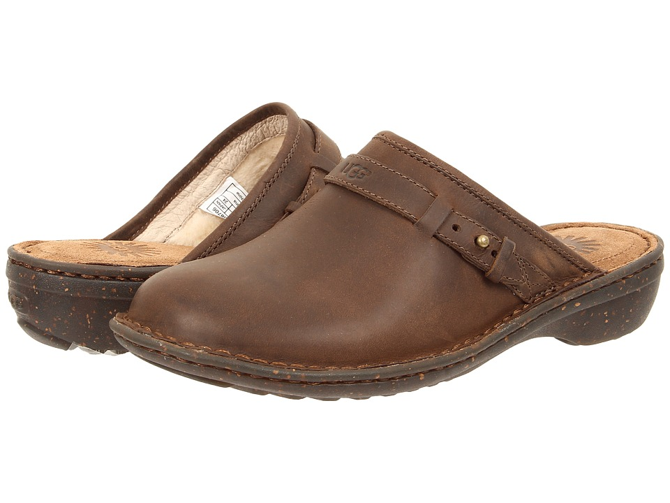 UGG - Bridgen (Dark Chestnut Leather) Women