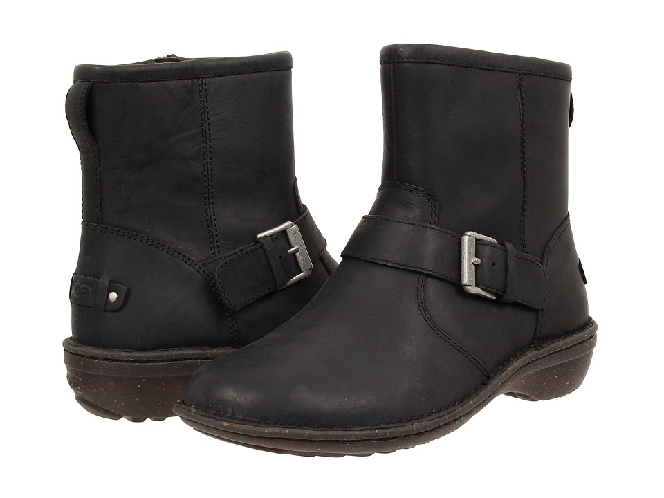 UGG - Bryce (Black Leather) Women