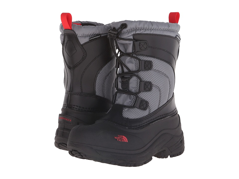 The North Face Kids - Alpenglow Lace (Toddler/Little Kid/Big Kid) (TNF Black/Griffin Grey) Boys Shoes